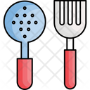 Cooking Spoons Cutlery Kitchen Icon