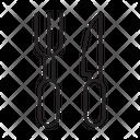 Utensils Knife Fork Icon