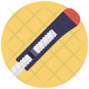 Utility Knife Cutter Icon
