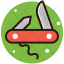 Utility Knife Folding Icon