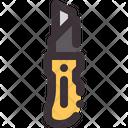 Utility Knife Cut Icon