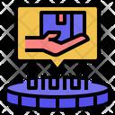 Utilitytoken Cryptocurrency Token Icon