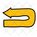 Large Uturn Arrow Icon