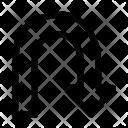 Uturn Right Arrow Icon