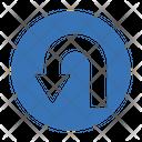 Uturn Arrow Reverse Icon