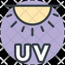 Uv Sun Ultraviolet Icon