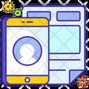 Ui Design Ux Mobile Layout Icon