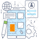 Ux Designing Ux Design Online Designing Icon