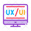 Ux Ui Development Icon