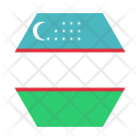 Uzbekistan National Country Icon