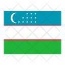 Uzbekistan Flag Flags Icon