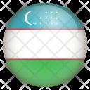 Uzbekistan Flag Icon