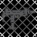 Uzi Gun Army Icon
