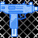 Uzi Gun Military Icon