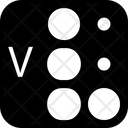Braille Alphabet Letter Icon