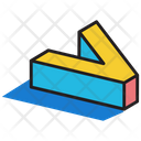 3 D V 3 D Letter 3 D Alphabet Icon