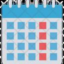 V Calendar Icon