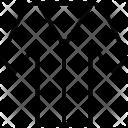V-neck shirt Icon