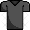 V Neck Shirt Icon