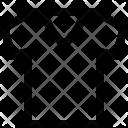 V-neck tshirt Icon