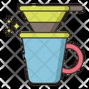 V Shape Drip Coffee Drip Drink Icon