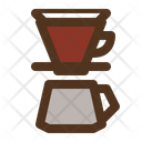 V 60 Filter Brewery Icon