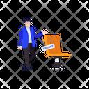 Vacancy Hiring Job Exploring Icon