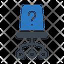 Vacancy Chair Recruitment Icon