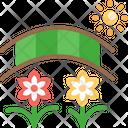Vacation Flower Sun Icon