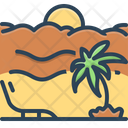 Vacation Holiday Leave Icon