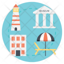 Traveling Equipment Vacation Icon