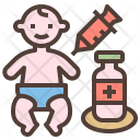 Vaccination Medicine Injection Icon