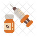 Vaccination Injection Medicine Icon