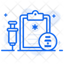 Injection Syringe Vaccination Icon