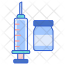Vaccination Injection Syringe Icon