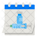 Vaccination Appointment Icon
