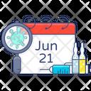 Vaccination Date Icon