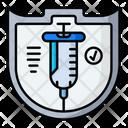 Vaccination Defense Icon