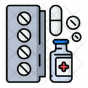 Vaccination Drug Icon