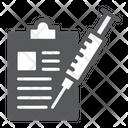 Vaccination Report Icon