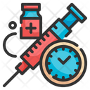 Vaccination Time Icon