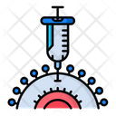Vaccination Virus Icon