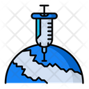 Vaccination World Icon