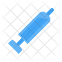 Vaccine Syringe Injection Icon