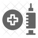 Vaccine Syringe Health Icon