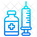 Syringe Medical Coronavirus Icon