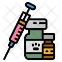 Vaccine Veterinarian Animal Icon