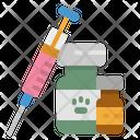 Vaccine Veterinarian Animal Icon