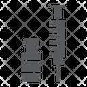 Covid Vaccine Syringe Icon