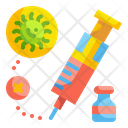 Vaccine Drug Anesthesia Icon